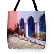 Courtyard Arches Tote Bag