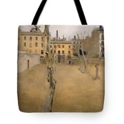 Courtyard Of The Old Barcelona Prison. Courtyard Of The Lambs Tote Bag