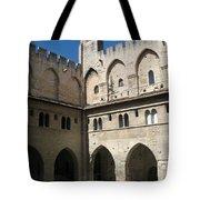 Courtyard - Palace Avignon Tote Bag