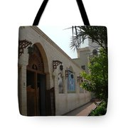 Courtyard To The Coptic Church Tote Bag