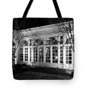 Courtyard View Tote Bag