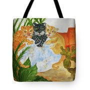 Cousins - Big Cats Tote Bag