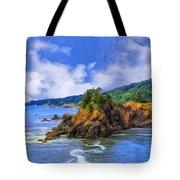 Cove On The Oregon Coast Tote Bag