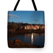 Cove Point Lodge Tote Bag