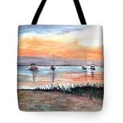 Cove Sunrise Tote Bag