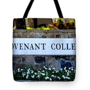 Covenant College Sign Tote Bag