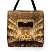 Covent Garden Theatre, From Microcosm Tote Bag