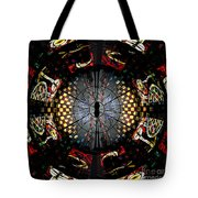 Coventry Cathedral Windows Montage Tote Bag