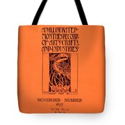 Cover For The Artist Magazine, November 1897 Tote Bag