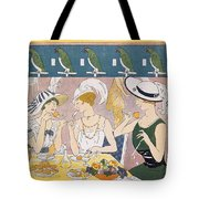 Cover Illustration From La Baionnette Tote Bag