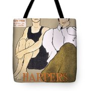 Cover Of Harpers Magazine, 1896 Tote Bag