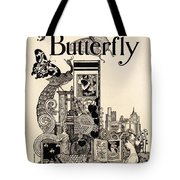 Cover Of The Butterfly Magazine Tote Bag