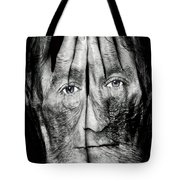 Cover Thy Faces Tote Bag