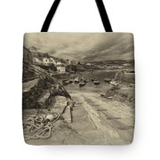 Coverack Harbour  Tote Bag
