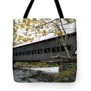 Covered Bridge Albany Tote Bag