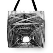Covered Bridge Architecture Tote Bag