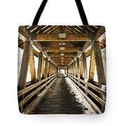 Covered Bridge Littleton New Hampshire Tote Bag