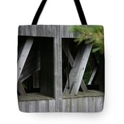 Covered Bridge Windows  Tote Bag
