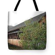 Covered Bridge - Woodstock - Vermont Tote Bag