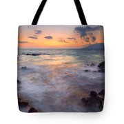 Covered By The Sea Tote Bag