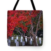 Covered In Fall Colors Tote Bag