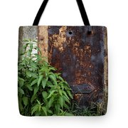 Covered In Rust Tote Bag