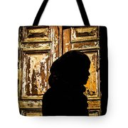 Covered Silhouette Tote Bag by Joshua Van Lare