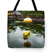 Covered Stones With Umbrella In Ritual Tote Bag
