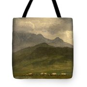 Covered Wagons Tote Bag