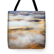 Covering The Gold Tote Bag by Mike  Dawson
