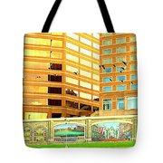 Covington Kentucky View From The Ferry Tote Bag