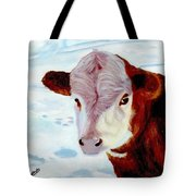 Cow A Bunga Tote Bag
