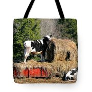 Cow Country Buffet Tote Bag