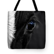 Cow Hey You Looking At Me Tote Bag