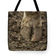 Cow Hoof Tote Bag