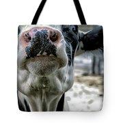 Cow Kiss Me Tote Bag