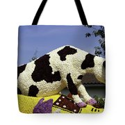 Cow On Clog 3 Tote Bag