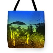 Cow On Lsd Tote Bag