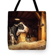 Cow On The Farm Tote Bag