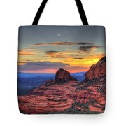 Cow Pies Sunset Tote Bag