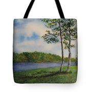 Cowan Lake Tote Bag