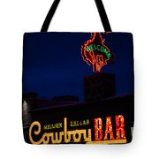 Cowboy Bar Tote Bag