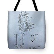 Cowboy Boot Patent Tote Bag