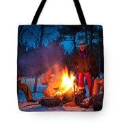 Cowboy Campfire Tote Bag