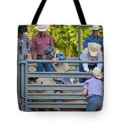Cowboy Countdown Tote Bag