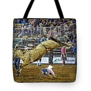 Cowboy Down Tote Bag