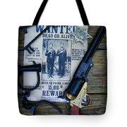 Cowboy - Law And Order Tote Bag by Paul Ward