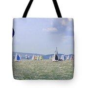 Cowes Week Isle Of Wight Tote Bag