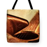 Cowgirl Boots And Country Music Tote Bag