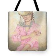 Cowgirl Tote Bag by Judith Grzimek